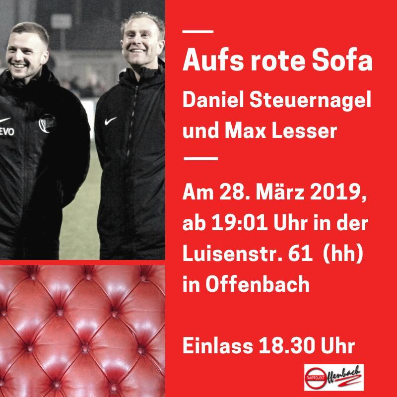 Aufs Rote Sofa Teil 3 Fanprojekt Offenbach